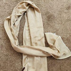 Moksha silk & wool scarf